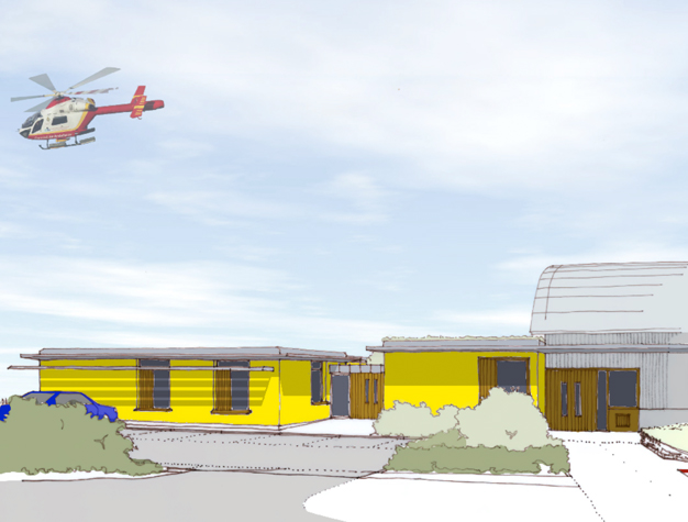 Cornwall Air Ambulance extension for Volunteers designed by ALA Architects