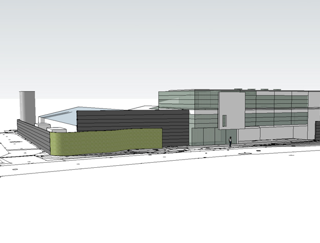 Design for Polymedics building by ALA Architects