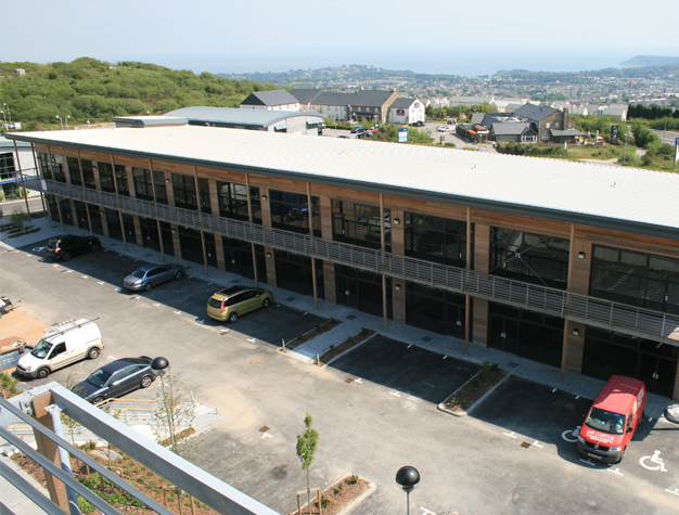 St Austell Business Park designed by ALA Architects
